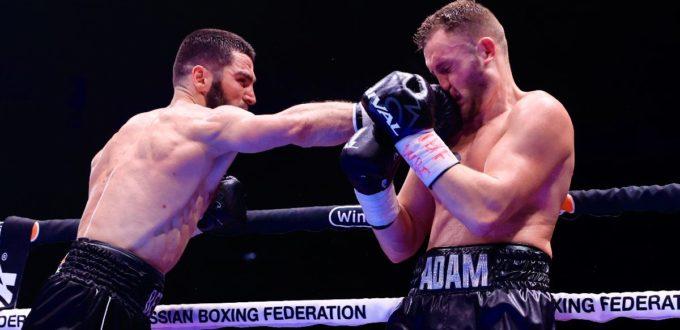 Artur Beterbiev KOs Adam Deines in Round 10