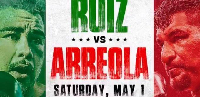 Ruiz Arreola Betting Odds, Presser & Weigh-in