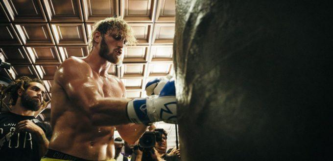 Logan Paul Gets Ready For Floyd Mayweather