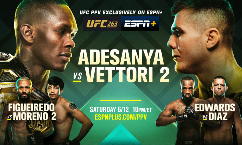 Order UFC 263