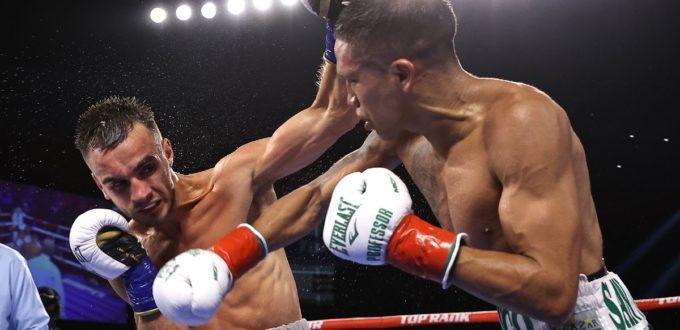 Joshua Franco Defeats Andrew Moloney & Nico Ali Walsh scoresfirst-round TKO in Pro Debut