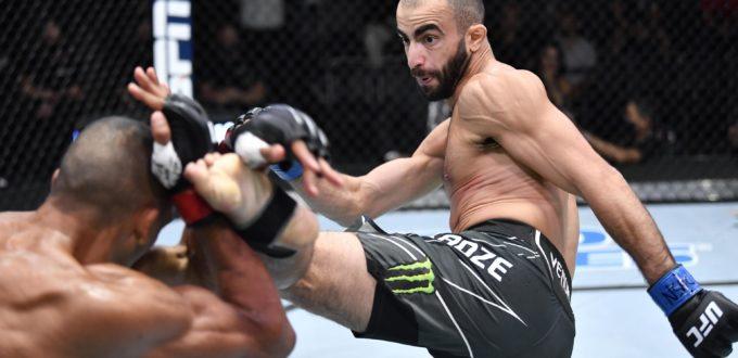UFC on ESPN 30 Results