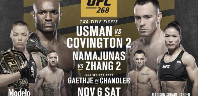 UFC 268 Card