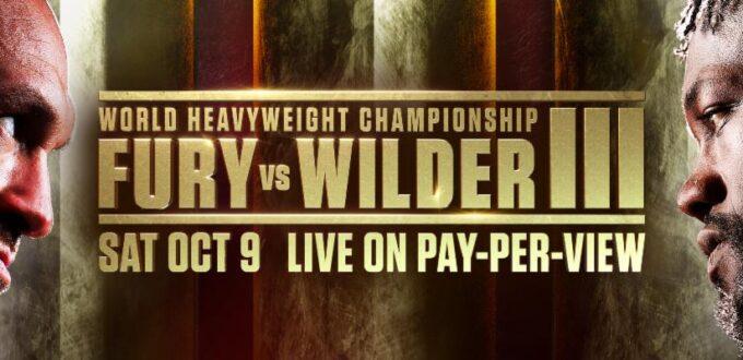 Fury vs. Wilder 3 Undercard