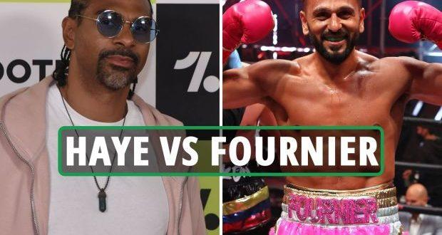 David Haye vs. Joe Fournier