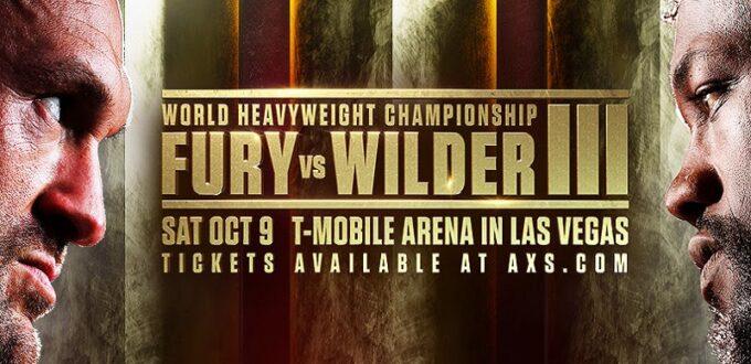 Fury vs. WIlder III Poster