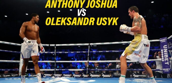 Joshua vs. Usyk Results