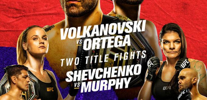 Order UFC 266