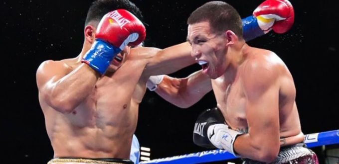 Counter Left Jab Knockdown Enables Marco Hernandez To Upset Jose Resendiz at Armory