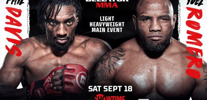 BELLATOR MMA 266: DAVIS VS. ROMEROVIRTUAL MEDIA DAY & WEIGH-IN VIDEO