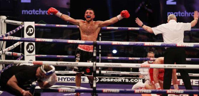 David Avanesyan Defeats Liam Taylor