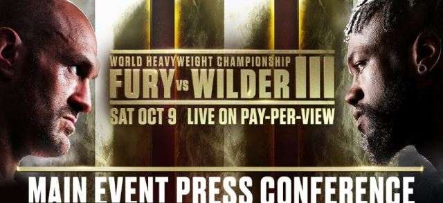 Deontay Wilder Tyson Fury 3 Press Conference