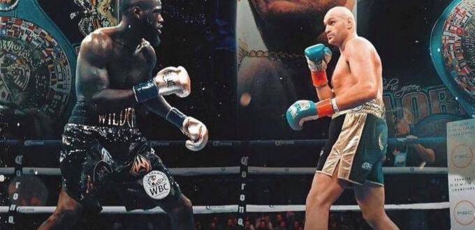 Order Fury vs. Wilder