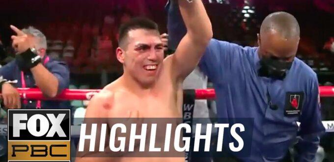 Vladimir 24K Hernandez vs. Julian Williams Highlights