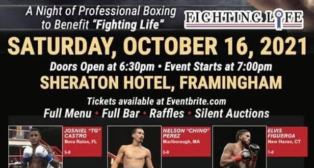 """Former USA amateur stars in action at the""""Fight Night in Framingham"""" October 16th"""