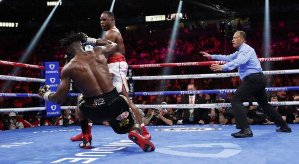Frankie Sanchez Knockdown